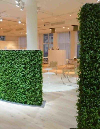 Die grüne Wand als Sicht- und Schallschutz
