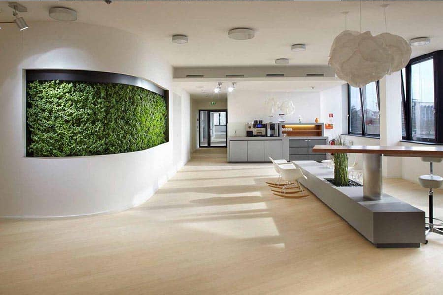 Küche Grüne Wand : die gr ne wand der wandgarten oder auch die vertikale begr nung ~ One.caynefoto.club Haus und Dekorationen