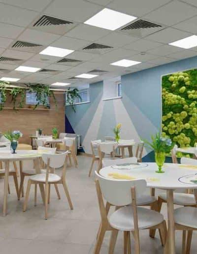 Moosbild Cafeteria