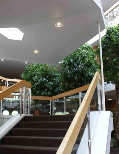 Treppenhaus einer Verwaltung