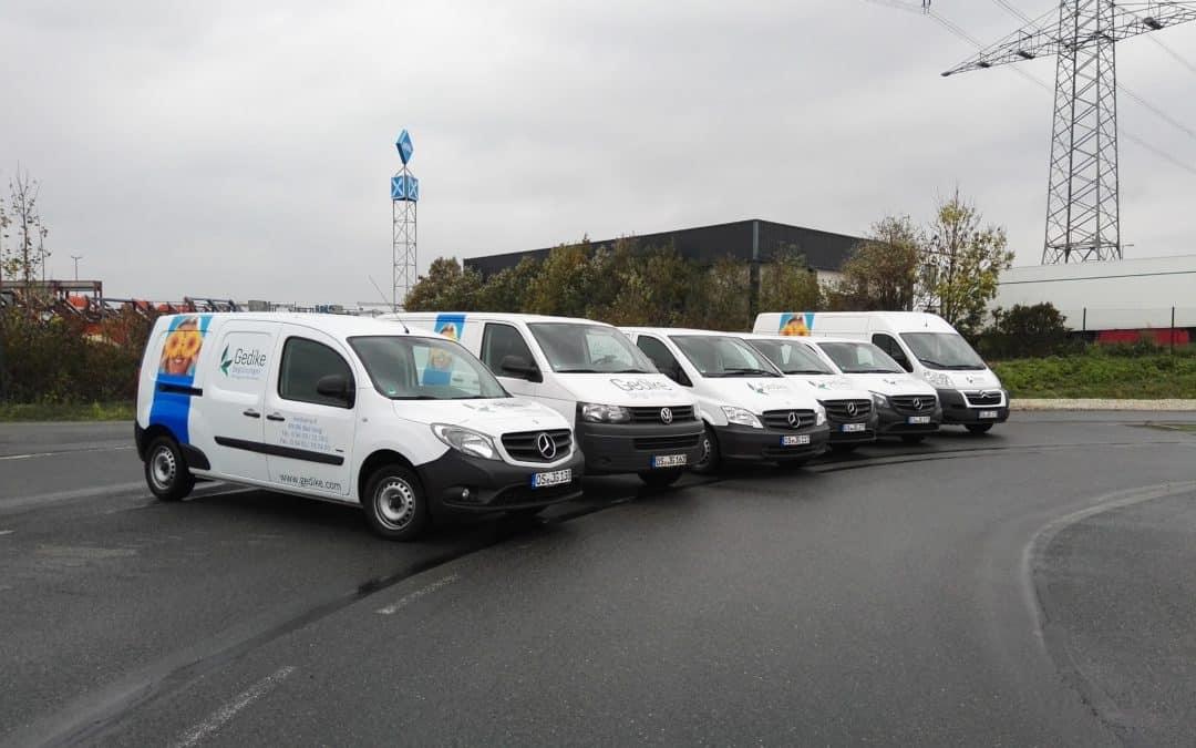Gedike Begrünungen GmbH & Co. KG neutralisiert den CO 2 Ausstoss