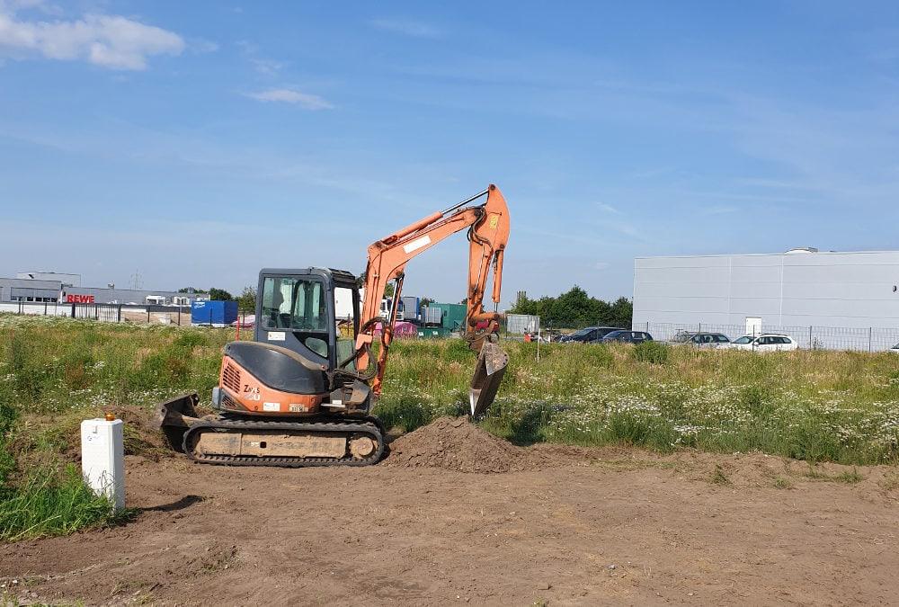 Mehr Raum für die Objektbegrünung durch den Bau einer neuen Betriebsstätte