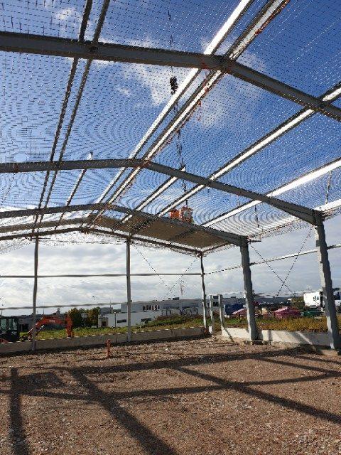 Mehr Raum für die Objektbegrünung durch den Bau einer neuen Betriebsstätte Part 2